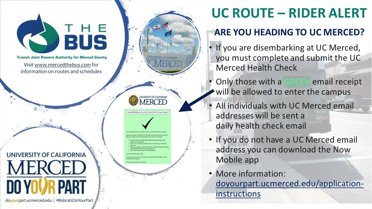 UC Merced health check