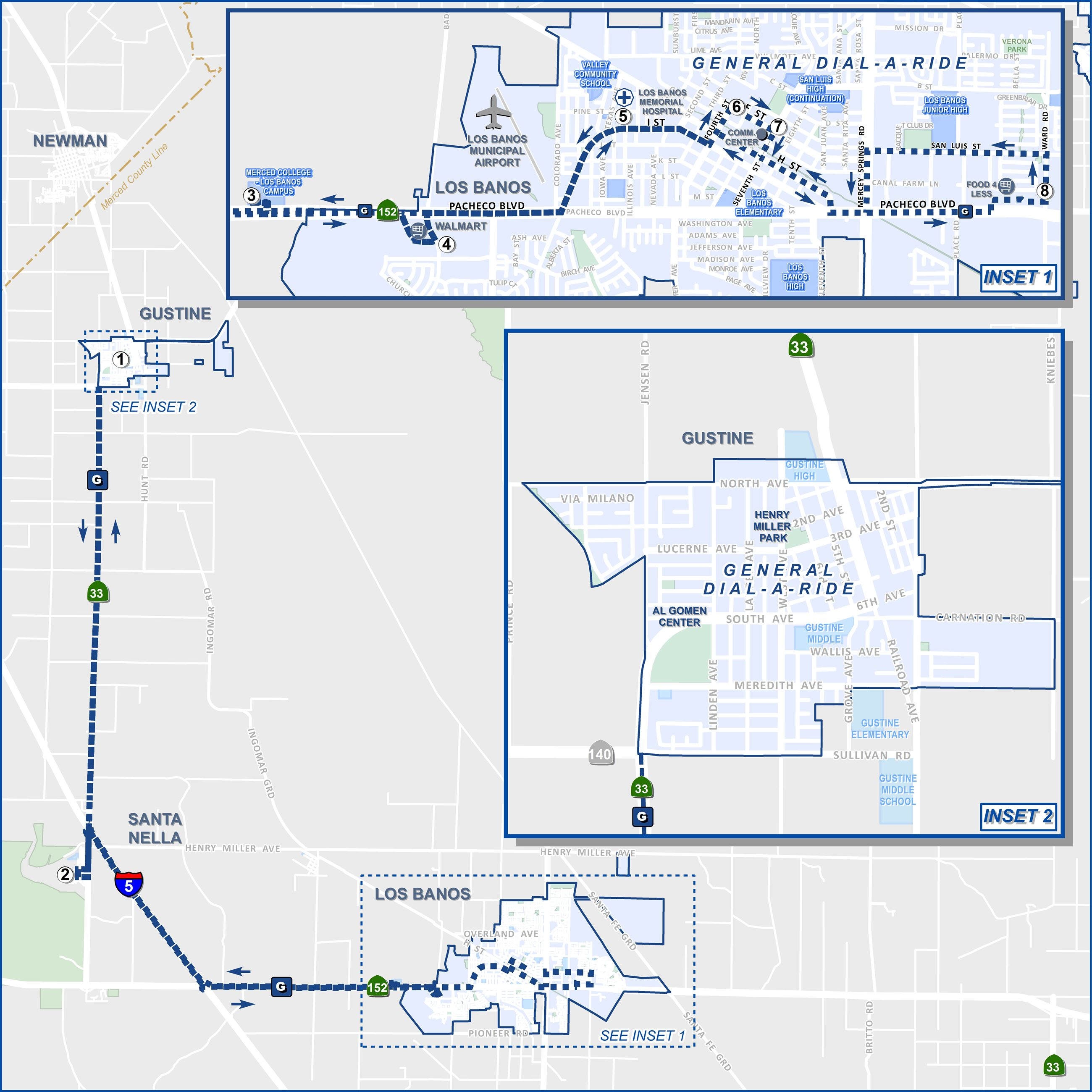 G - Gustine Link   Merced Transit Authority, CA - Official Website